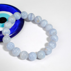Blue Lace Agate Bracelet - Main