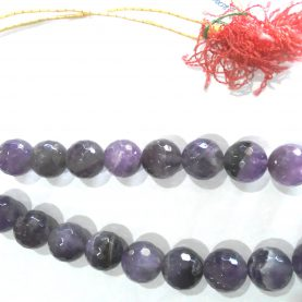 Amethyst Big Beads Necklace1