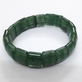 Aventurine (Green) Square Beads Bracelet1