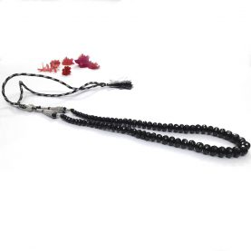 Black Spinel Necklace - Main