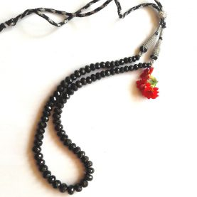 Black Spinel Necklace1