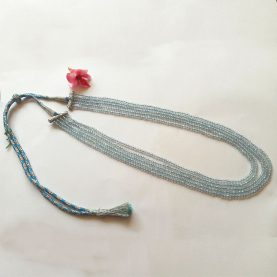 Blue Topaz Necklace (5 layered) - Main