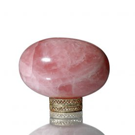 Rose Quartz Specialty Shivalingam 1068 gm1
