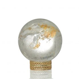 Rutilated Quartz Sphere 1