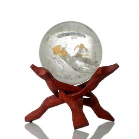 Rutilated Quartz Sphere - Main