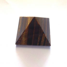 Tiger's Eye Pyramid - Main