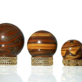 Tiger's Eye Sphere 1